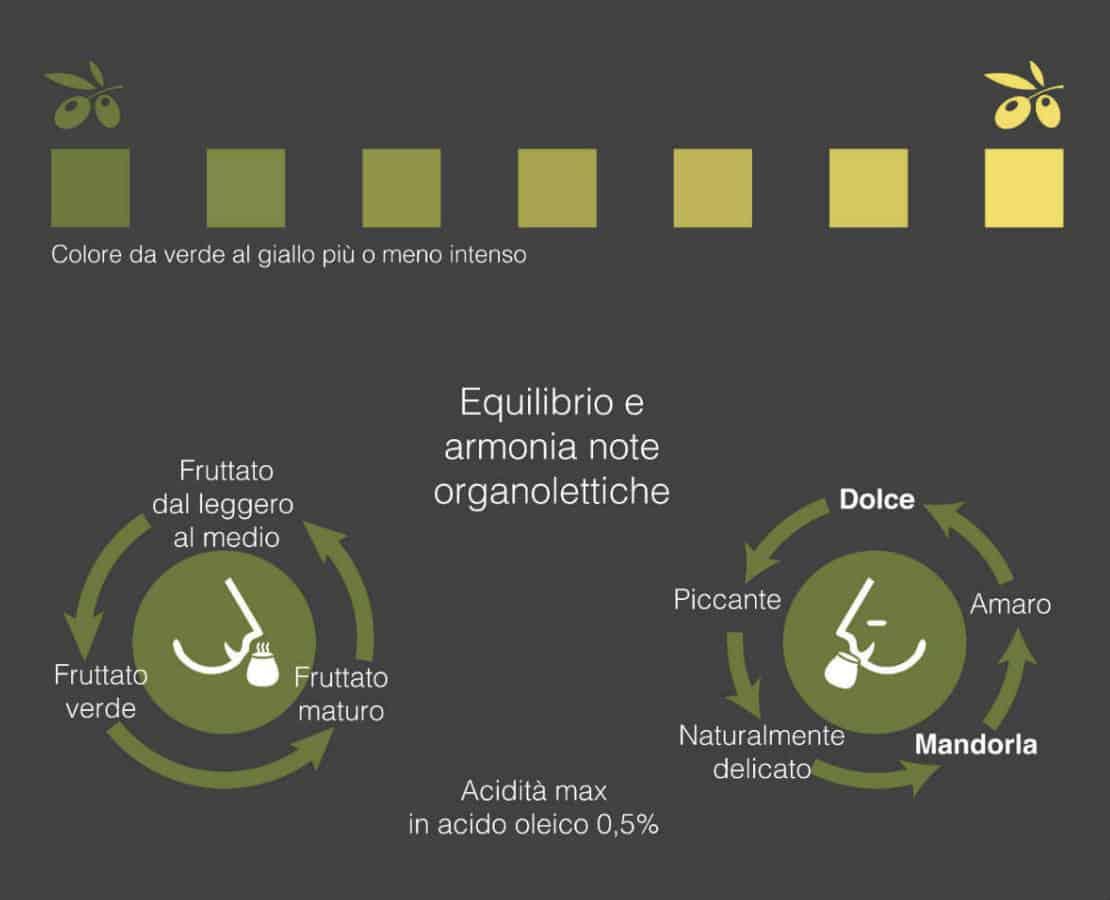 caratteristiche olio extravergine di oliva garda dop